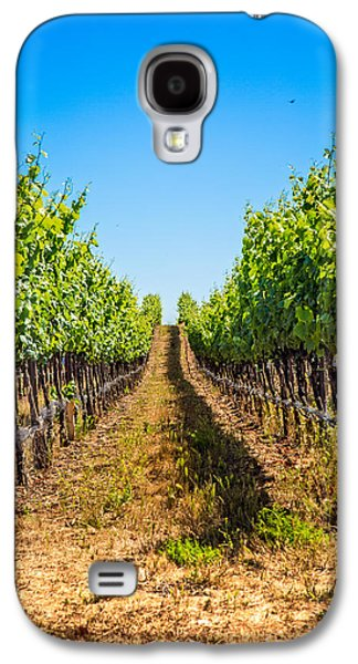 Down The Row Galaxy S4 Case