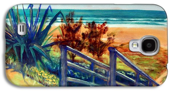 Down The Stairs To The Beach Galaxy S4 Case by Winsome Gunning