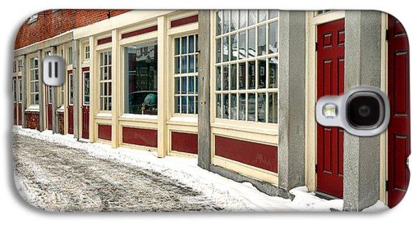 Downtown Gardiner Winter Galaxy S4 Case
