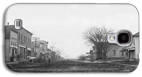 Downtown Galaxy S4 Case - Downtown Hudson Iowa by Greg Joens