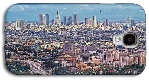 Downtown Los Angeles Galaxy S4 Case by Kim Wilson