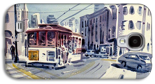 Downtown San Francisco Galaxy S4 Case by Donald Maier