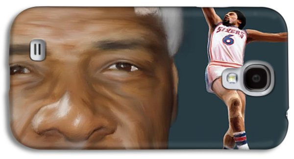 Dr J Now And Then Galaxy S4 Case