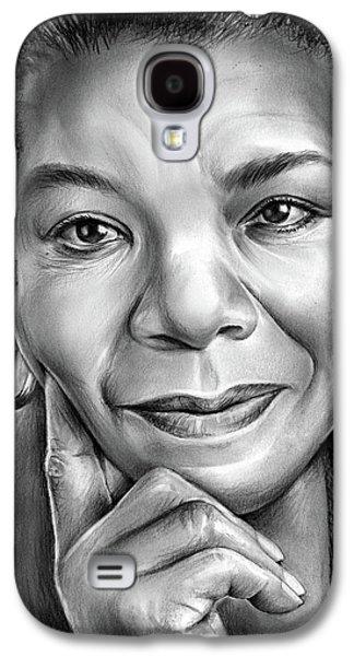 Dr Maya Angelou Galaxy S4 Case by Greg Joens