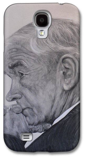 Dr. Ron Paul, Pensive Galaxy S4 Case by Adrienne Martino