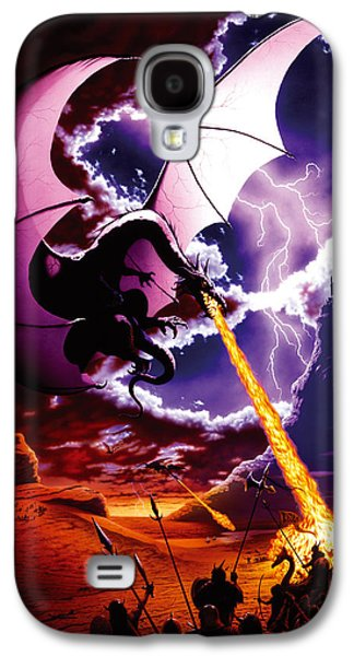 Fantasy Galaxy S4 Case - Dragon Attack by The Dragon Chronicles - Steve Re