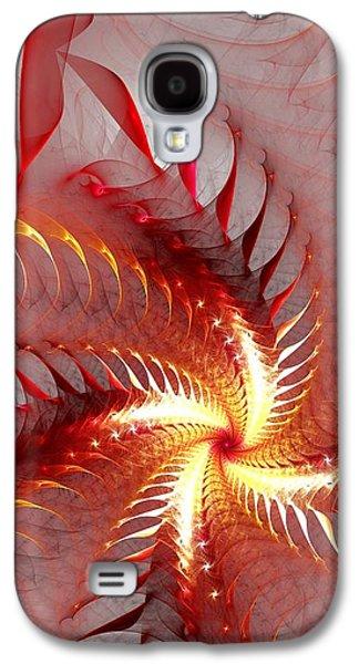 Dragon Flower Galaxy S4 Case