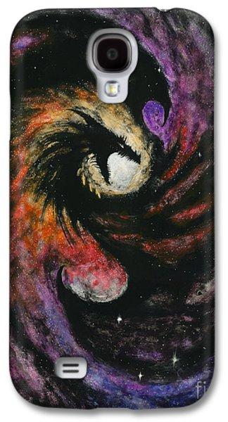 Dragon Galaxy S4 Case - Dragon Galaxy by Stanley Morrison