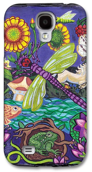 Dragonfly And Unicorn Galaxy S4 Case by Genevieve Esson