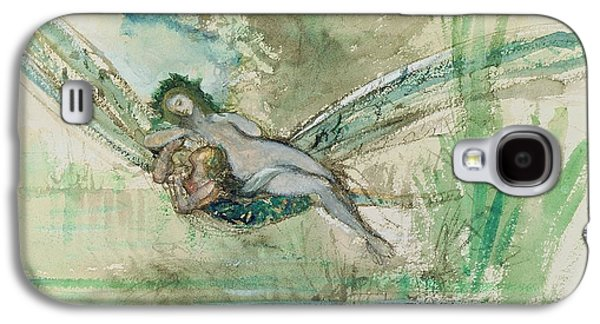 Dragonfly Galaxy S4 Case by Gustave Moreau