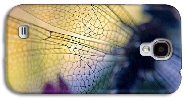 Dragonfly Wings Galaxy S4 Case by Susan Leggett