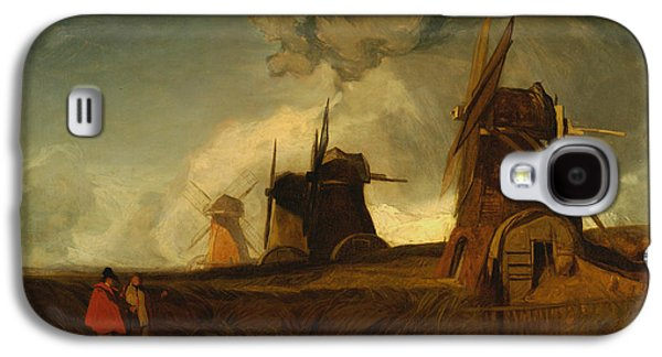 Drainage Mills In The Fens, Croyland, Lincolnshire Galaxy S4 Case