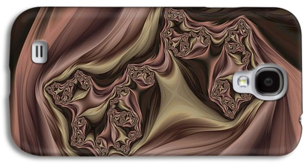 Drapes Abstract Galaxy S4 Case by Marianna Mills