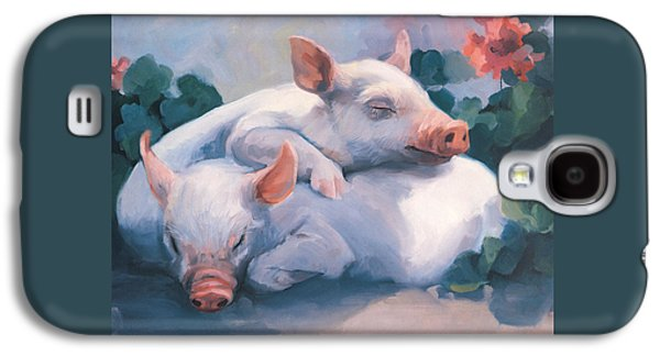 Dream Away Piglets Galaxy S4 Case