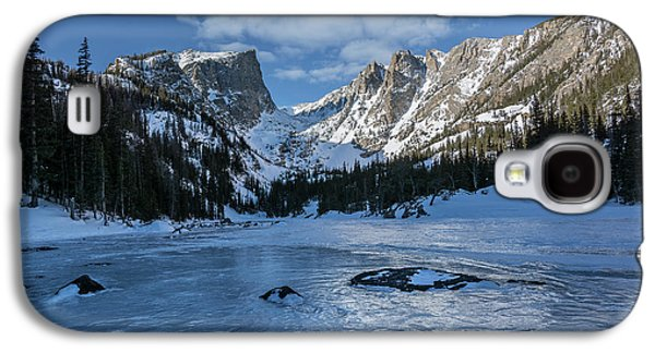 Galaxy S4 Case featuring the photograph Dream Lake Morning by Aaron Spong