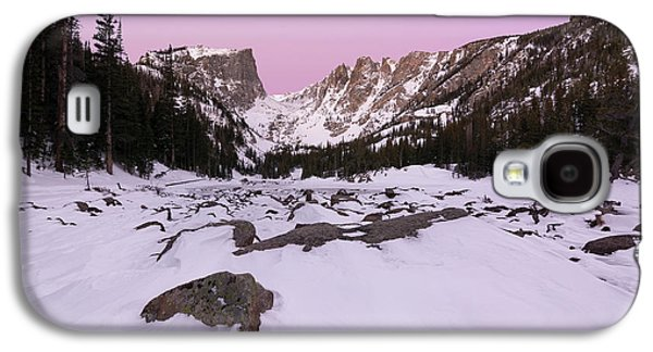 Galaxy S4 Case featuring the photograph Dream Lake - Pre Dawn by Aaron Spong