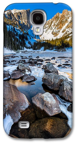 Dream Lake Sunrise Galaxy S4 Case by Andres Leon