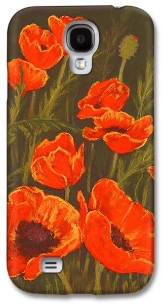 Dream Of Poppies Galaxy S4 Case