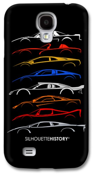 Viper Galaxy S4 Case - Dreamcars Of 90s Silhouettehistory by Gabor Vida