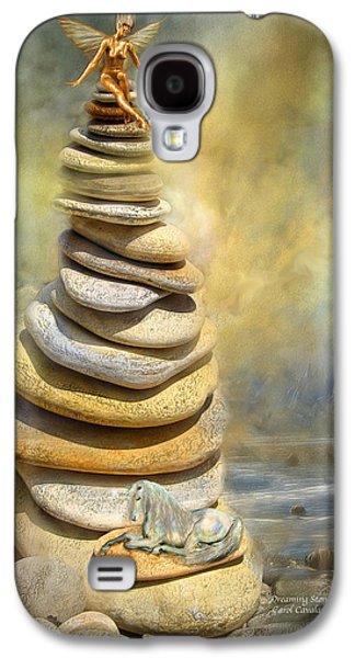 Dreaming Stones Galaxy S4 Case by Carol Cavalaris