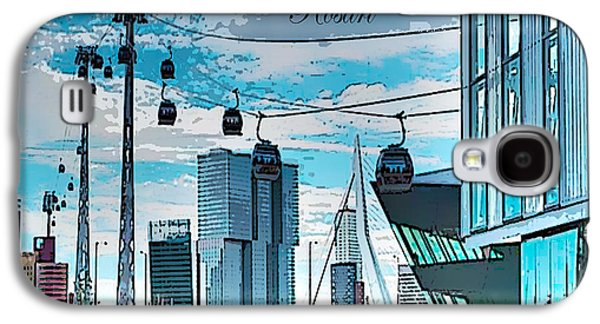 Dreamline Rotterdam Galaxy S4 Case by Rosa Maria Intorre