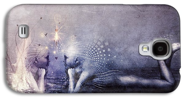 Dreams Of A Scorpion Heart Galaxy S4 Case by Cameron Gray