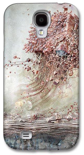 Dreamscape Flow No.1 Galaxy S4 Case by Te Hu