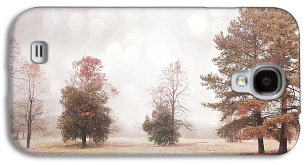Dreamy Ethereal Serene Peaceful Nature Trees Landscape Galaxy S4 Case by Kathy Fornal