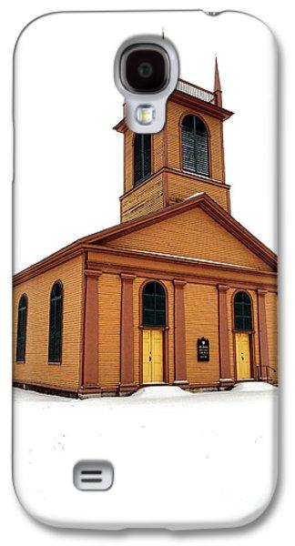 Dresden St John Episcopal Church In Snow Galaxy S4 Case