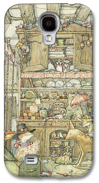 Mice Galaxy S4 Case - Dressing Up At The Old Oak Palace by Brambly Hedge