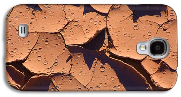 Dried Mud 3c Galaxy S4 Case by Mike McGlothlen