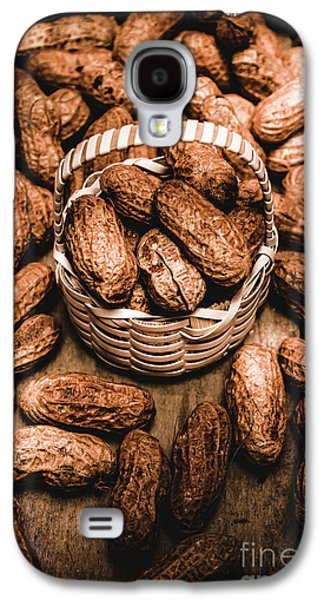 Dried Whole Peanuts In Their Seedpods Galaxy S4 Case by Jorgo Photography - Wall Art Gallery