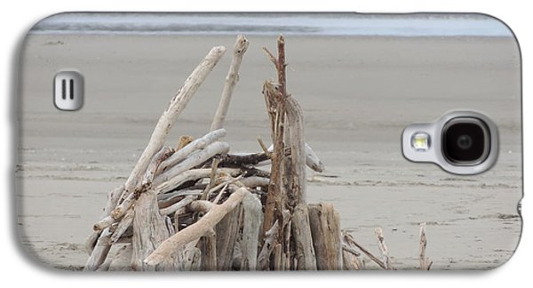 Driftwood Fort Galaxy S4 Case by Traci Hallstrom