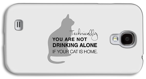 Cat Galaxy S4 Case - Drinking With Cats by Nancy Ingersoll