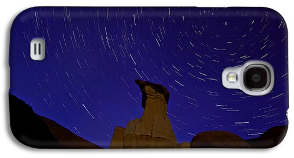 Drumheller Hoo Doo Night Galaxy S4 Case by Mark Duffy