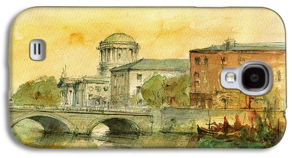 Dublin Cityscape Galaxy S4 Case