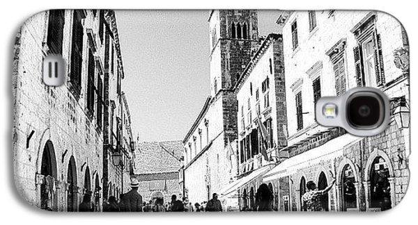 #dubrovnik #b&w #edit Galaxy S4 Case by Alan Khalfin
