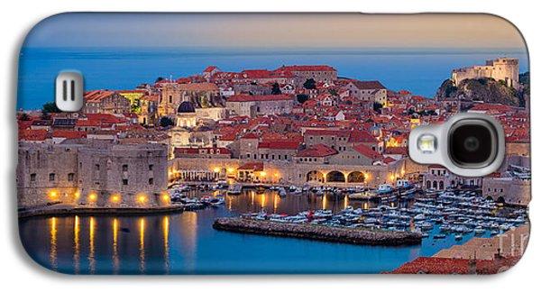 Dubrovnik Twilight Panorama Galaxy S4 Case by Inge Johnsson