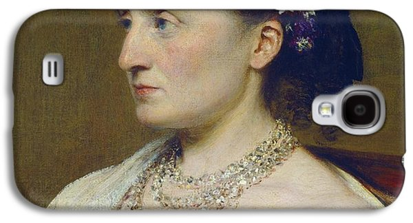Duchess De Fitz-james Galaxy S4 Case by Henri Fantin-latour