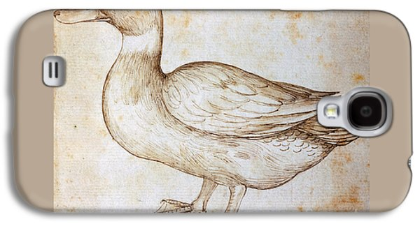 Duck Galaxy S4 Case by Leonardo Da Vinci