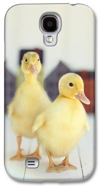 Ducks In The Neighborhood Galaxy S4 Case by Amy Tyler