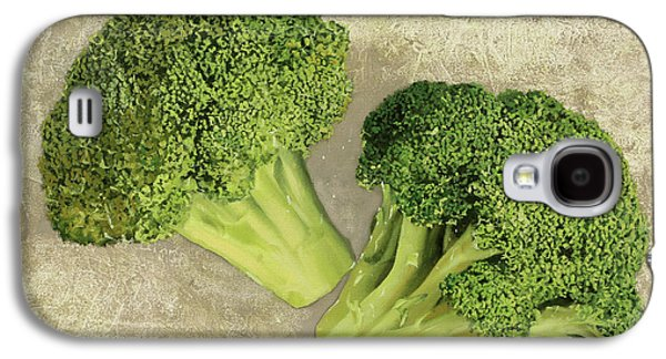 Broccoli Galaxy S4 Case - Due Broccoletti by Guido Borelli