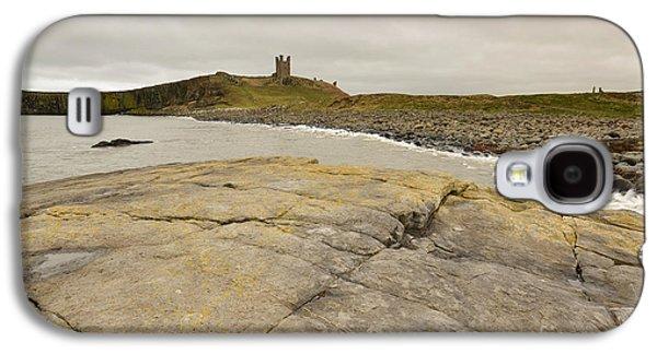 Castle Galaxy S4 Case - Dunstanburgh Castle by Smart Aviation
