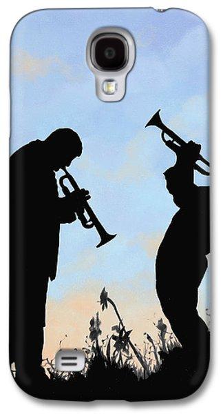 Trumpet Galaxy S4 Case - duo by Guido Borelli