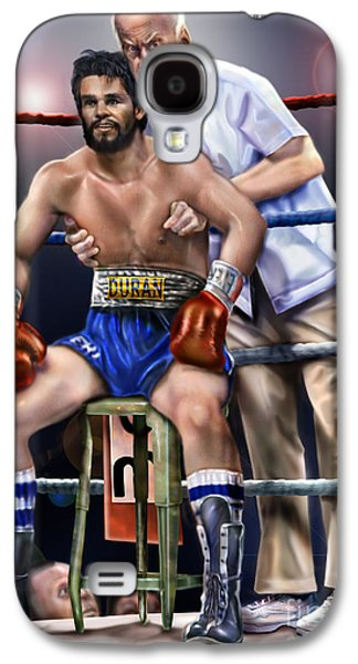 Duran Hands Of Stone 1a Galaxy S4 Case by Reggie Duffie