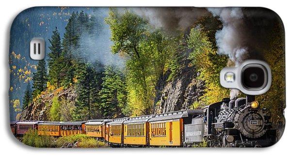 Durango-silverton Narrow Gauge Railroad Galaxy S4 Case by Inge Johnsson