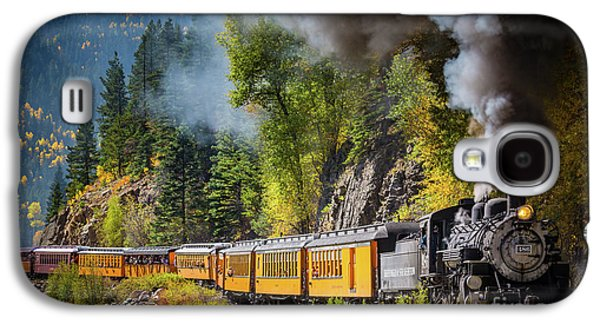 Train Galaxy S4 Case - Durango-silverton Narrow Gauge Railroad by Inge Johnsson