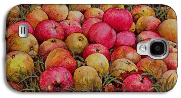 Durnitzhofer Apples Galaxy S4 Case by Ditz