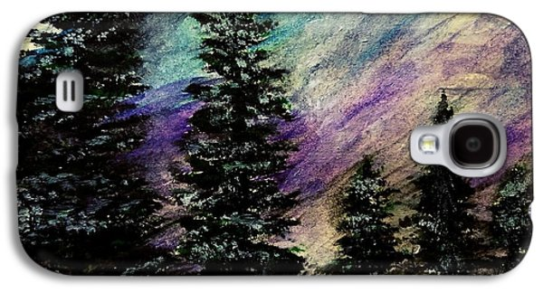 Dusk On Purple Mountain Galaxy S4 Case by Scott D Van Osdol