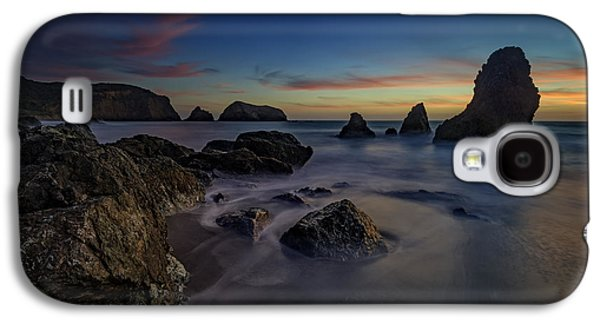 Dusk On Rodeo Beach Galaxy S4 Case